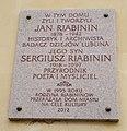 Tablica pamiątkowa - Jan i Sergiusz Riabinin.jpg