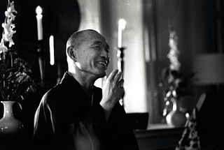 Japanese Zen Buddhist teacher