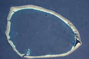 Takuu Atoll - NASA picture of Takuu Atoll