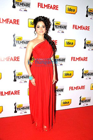 Cameraman Gangatho Rambabu - Tamannaah was selected as lead heroine marking her first collaboration with Pawan Kalyan.