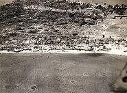 Tarawa aerial view 24 Nov 1943