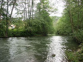Tauber River in Germany
