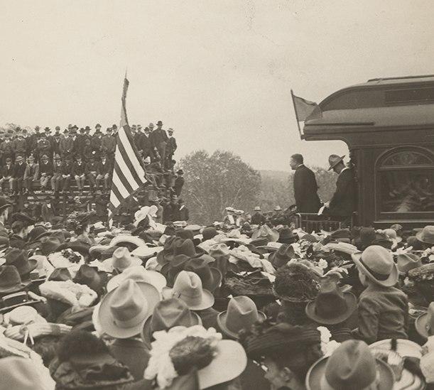 Teddy Roosevelt at Kansas City, Kansas (15178301101) (cropped)