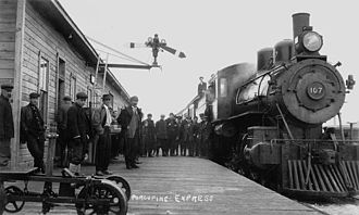 Ontario Northland Railway - Porcupine Express, Temiskaming and Northern Ontario Railway, c. 1910