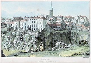 Tenby, south sands: plate 2 of the Panoramic View
