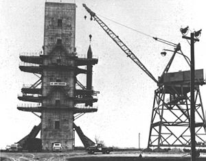 Redstone Arsenal - Image: Test stand 56 01