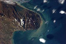 Manfredonia e Gargano dal satellite