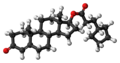 Testosterone cypionate molecule ball.png