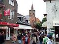 Texel - Den Burg - Hogerstraat - View SE through Binnenburg towards Protestant Church.jpg