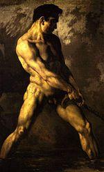 Nu masculin, Musée Bonnat (Bayonne)