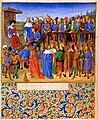 Théséide - Vidobo2617 91r - Thésée présidant le rassemblement des nobles grecs.jpg