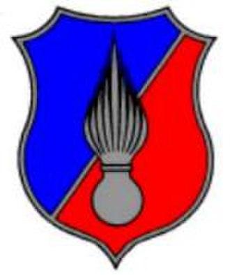 Gendarmerie (Belgium) - A flaming grenade is the symbol of the gendarmerie forces