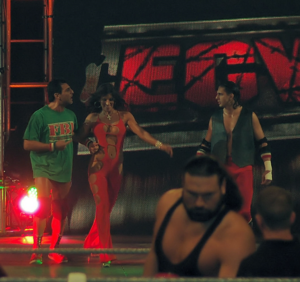 The Full Blooded Italians: Little Guido (left), Trinity (middle) and Tony Mamaluke (right) in 2006. TheFullBloodedItalians2005.png