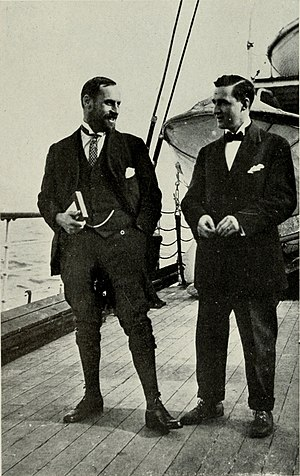 James L. Clark - Dugmore (left) and Clark (right) on the way to Africa