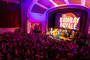 The Bombay Royale - Image: The Bombay Royale at Estonian House, August 30th 2015