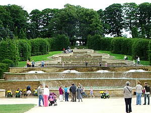 Jane Percy, Duchess of Northumberland - The cascade fountain in The Alnwick Garden