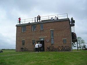 Debach - The Control Tower at Debach Airfield