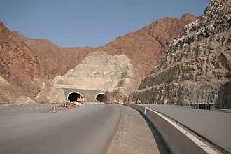 Daftah - Image: The Daftah Khor Fakkan Road