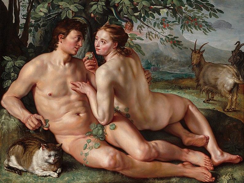 File:The Fall of Man-1616-Hendrik Goltzius.jpg