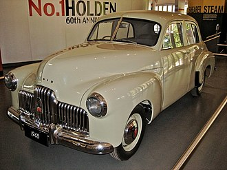Holden 48-215 - Image: The First Holden