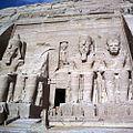 The Great Temple of Abu Simbel, Ramses II, Pharaoh period.jpg