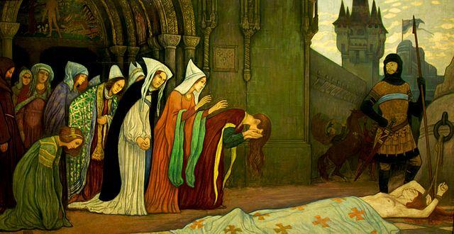 """""""L'histoire de Klára Zách II."""" (1911) d' Alandár Körösfõi."""