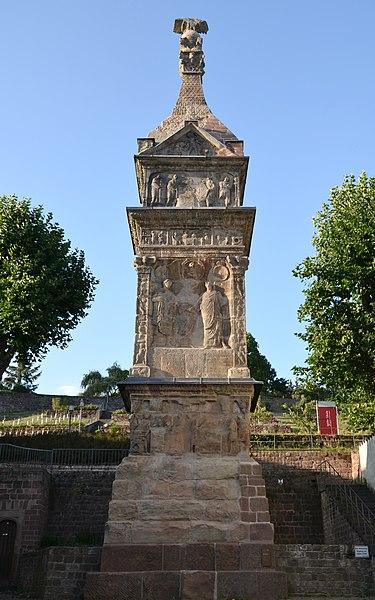 filethe igeler säule a roman tower tomb builtthe