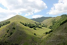 DistrictofMitrovica-Relief-The Mountains of Bajgora
