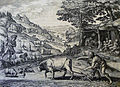 The Phillip Medhurst Picture Torah 29. Cain and Abel. Genesis cap 4 vv 1-2. De Vos.jpg