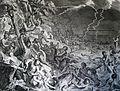 The Phillip Medhurst Picture Torah 53. Noah's Ark and the Deluge. Genesis cap 7 v 12. Hoet.jpg