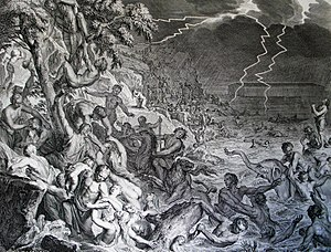 The Bible and violence - Noah's Ark and the Deluge.
