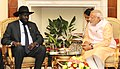 The Prime Minister, Shri Narendra Modi meeting the President of South Sudan, Mr. Salva Kiir Mayardit, in New Delhi on October 30, 2015 (1).jpg