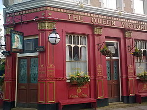 The Queen Victoria - Image: The Queen Vic