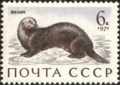 The Soviet Union 1971 CPA 4038 stamp (Sea Otter).png