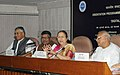The Speaker, Lok Sabha, Smt. Sumitra Mahajan addressing at the inauguration of an Orientation Programme for the Members of Parliament on 'Digital India Implementation', in New Delhi.jpg