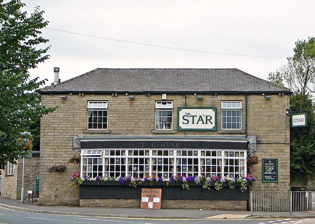 Creative Commons image of The Star Inn in Huddersfield