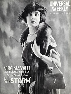 <i>The Storm</i> (1922 film) 1922 film by Reginald Barker