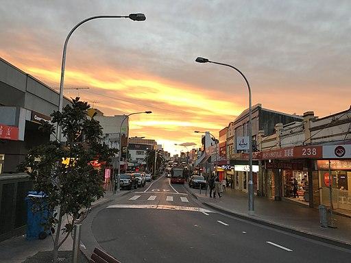 The Sunset, Hurstville NSW, Horizontal