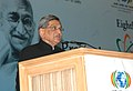 The Union Minister for External Affairs, Shri S.M. Krishna addressing at the 8th Pravasi Bharatiya Divas-2010, in New Delhi on January 08, 2010.jpg
