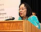 The Union Minister for Minority Affairs, Dr. Najma A. Heptulla addressing at the inauguration of an exhibition, in New Delhi on March 19, 2016.jpg