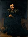 "The dwarf Don Juan Calabazas, ""Calabacillas"". Oil painting b Wellcome V0017106.jpg"
