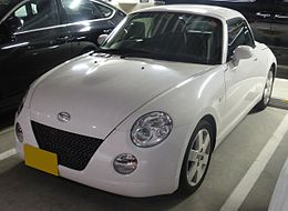 The frontview of Daihatsu Copen Activetop (L880K).JPG