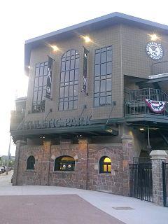 Athletic Park (Wausau) baseball stadium in Wausau, Wisconsin