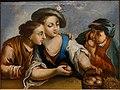 The peach eaters, Jan-Joseph Horemans, 1700s, oil on canvas - Villa Vauban - Luxembourg City - DSC06638.JPG