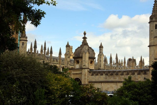 The spires of All Souls College - geograph.org.uk - 1420243