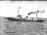 The vessel CAPTAIN COOK on Sydney Harbour (7701488118).jpg