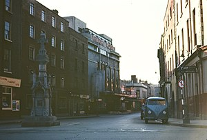 Theatre Royal, Dublin - 1960s image of the Theatre Royal, Hawkins Street
