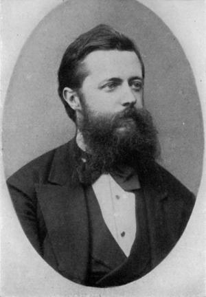 Theodor Helm - Theodor Otto Helm, Austrian Music Critic, circa 1885