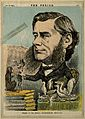Thomas Henry Huxley. Coloured wood engraving, 1870. Wellcome V0003003.jpg
