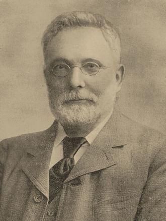 Shebbear College - Thomas Ruddle, Headmaster of Shebbear College from 1864-1909
